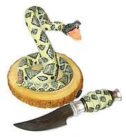 Сувенирное оружие змея- нож