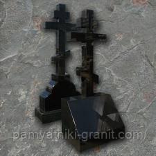 Гранітні хрести від виробника Житомир (Зразки №521)
