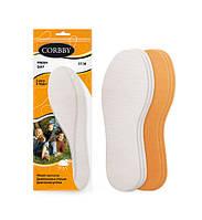 Тонкие, парфюмированные, гигиенические стельки для обуви FRESH DAY 3 пары в упаковке!