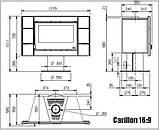 Дровяной Камин Nordica Carillon 16/9 Evo, фото 8