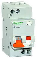 Дифференциальный автоматический выключатель АД63 2П 16А 3 30мА Schneider Electric