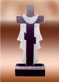 Кресты гранитные от производителя Житомир (Образцы №518)