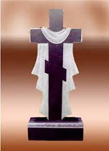 Гранітні хрести від виробника Житомир (Зразки №518)