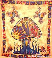 "Покрывало ""Mushroom"", оранжевое"