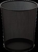Корзина офисная ВМ.6270-01 (черн, кругл., метал)