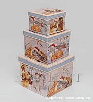 """WA-40-40 Комплект коробок из 3шт """"Куб"""""""