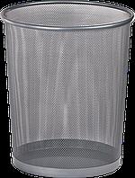 Корзина офисная BM.6270-24 (серебро, кругл, метал)