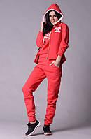 Спортивный женский костюм коралловый Шанель  Арт-5021/44