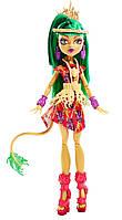 Кукла Монстер Хай Джинафаер Лонг Экзотическая вечеринка, Monster High Ghouls' Getaway Jinafire Long Doll