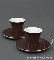 """FD-19 Кофейный н-р на 2 перс. """"Колумбия для двоих"""" коричневый"""