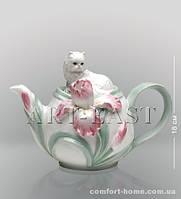 """CMS - 04/ 1 Заварочный чайник """"Котенок с ирисом"""" (Pavone)"""