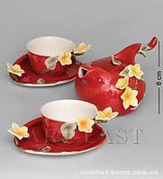 "FM- 40/ 4 Чайный набор ""Франжипан"" (Pavone) на 2 персоны"