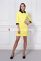 Платье лимонного цвета, только опт