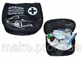 Аптечка сумка МАСТЕРАВТО BLACK (шт.) - Мако в Ивано-Франковске