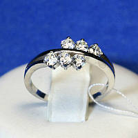 Родированное серебряное кольцо Милашка 4814-р