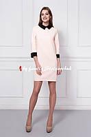 Платье женское 352-2 цвет пудра, только опт