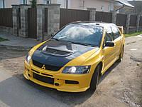 "Передний бампер Mitsubishi Lancer 9 ""Rallyart"" Evo"