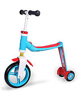 Самокат Scoot and Ride серии Highwaybaby+ сине-красный, до 3 лет/20кг