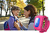 Детские часы с GPS трекером Q50 розовый