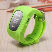 Детские часы с GPS трекером Q50 салатовый