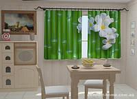 Фотошторы Бамбук в кухне 1,5м х 2,5м