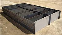 Формы для производства фибропенобетонных блоков 24 шт с дном (0,86м³)