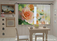 Фотошторы Розы в кухне 1,5м х 2,5м