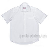 Школьная белая рубашка без рукавов Юность 830-2 42 (Р-158, ОГ-80, ОШ-35)