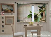 Фотошторы Маслины в кухне 1,5м х 2,5м