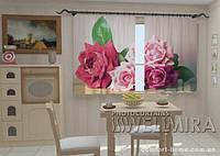 Фотошторы Садовые розы 1,5м х 2,5м