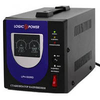 Стабилизатор ступенчатый однофазный LogicPower LPH-500RD