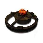 Формы крышек для железобетонных колодезных колец