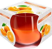Ароматична свічка у склі Bispol Апельсин 7 см (sn71-63)