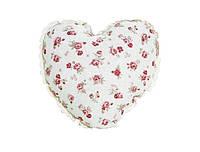 Подушка декоративная ручной работы Сердце Red Rose
