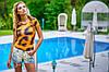 Футболка леопард | Swag 1532 sk, фото 2