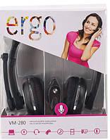Наушники ERGO VM-280 Black