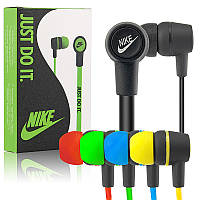 Наушники HF MP3 Nike NK-96/NK-49/NK-28/NK-18 Black