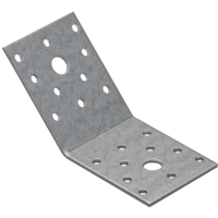 Уголок 135 ° равнобокий KLR2 (70 мм х 70 мм х 55 мм х 2,5 мм) Domax Польша строительный крепеж, фото 1
