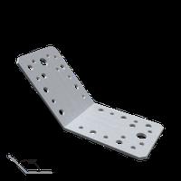 Уголок 135 ° равнобокий KLR3 (90 мм х 90 мм х 65 мм х 2,5 мм) Domax Польша строительный крепеж, фото 1