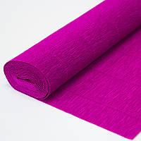 Бумага креп ярко розовая 572 Италия