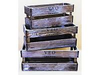 Комплект ящиков деревянных Прованс №5, арт. AT-DYK5