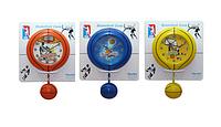 Часы настенные Детские с маятником Баскетбол кварц.пластик 29,9*5,6*41,2см