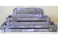 Комплект ящиков балконных из дерева, арт. AT-DYBM