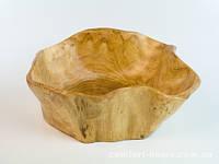 Конфетница-ваза Деревянная  Фигурная Размер 7