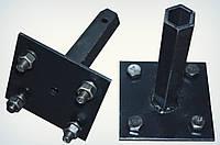 """Полуось """"Zirka 105""""(кованная шестигранная труба, диаметр 32 мм, длина 170 мм)(пара) Премиум"""