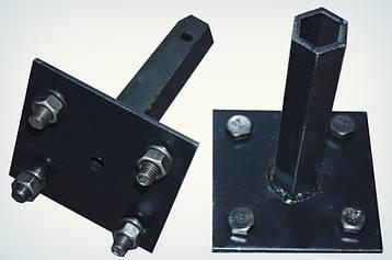 """Полуось """"Zirka 105""""(кованная шестигранная труба, диаметр 32 мм, длина 170 мм)(пара)"""