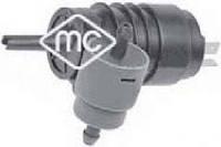 Насос стеклоомывателя Trafic/Vivaro 01-/Berlingo/Partner 05- (+задний омыватель) Metalcaucho MC02063