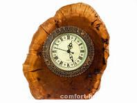 Часы Деревянные Срез p10352-01