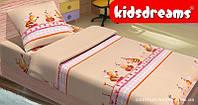 Комплект постельного белья в кроватку KidsDreams БДЖІЛКИ 110х150 см