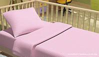 Комплект постельного белья в кроватку KidsDreams ГОРОШКИ РОЗОВЫЙ 110х150 см